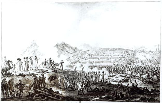 The Battle of Talavera de la Reina between the Anglo-Spanish and the French Armies, 28th July 1809