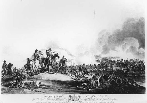 The Battle of Salamanca, July 22nd 1812, engraved by G. Lewis, 1813