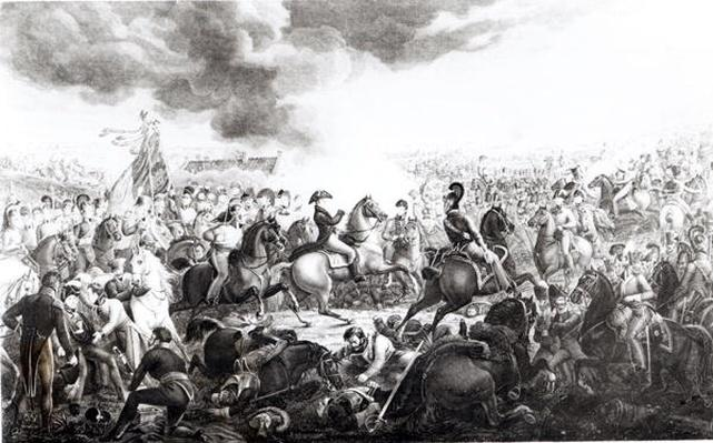 Wellington at the Battle of Waterloo, 18th June 1815