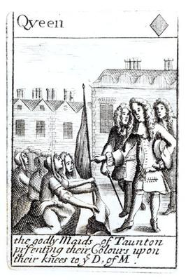 The Maids of Taunton Kneeling before the Duke of Monmouth