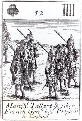 Marshal Tallard and other French Generals Brought Prisoners to England