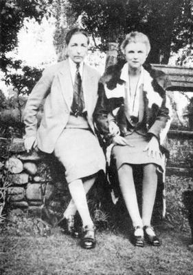 Radclyffe Hall and Una Vincenzo
