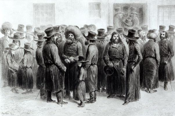 Jewish Traders and Merchants, printed by Auguste Bry