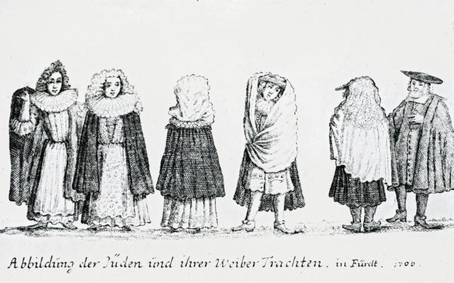 A Depiction of Jewish People and their Dress, 1706