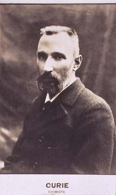 Portrait of Pierre Curie