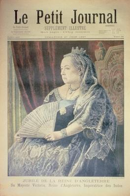 Jubilee of the Queen of England, front cover of 'Le Petit Journal', 27 June 1897