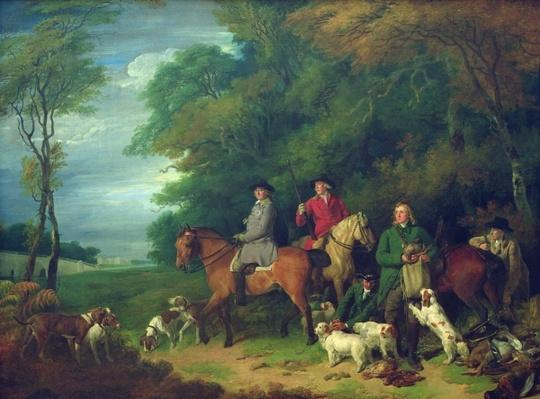 The Return from Shooting, 18th century