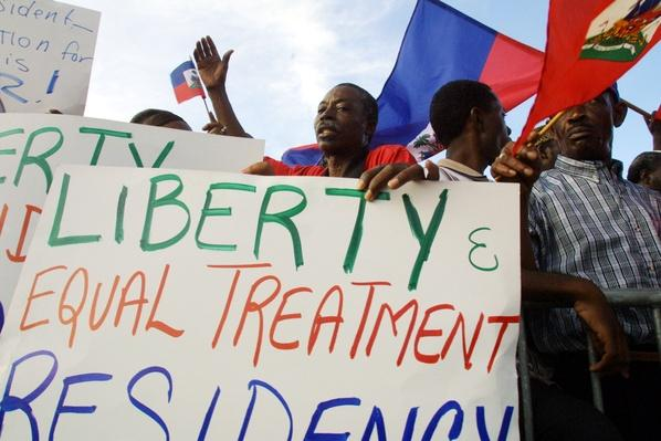 Haitians Demonstrate For Immigration Reform | U.S. Immigration | 1840's to present | U.S. History