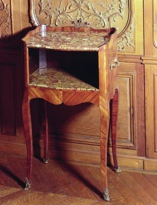 Table-de-meret by M.Criaerd, 1755