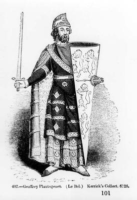 Geoffrey Plantagenet, Count of Anjou
