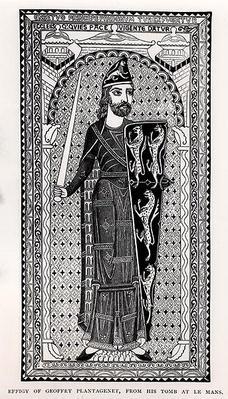 Effigy of Geoffrey Plantagenet