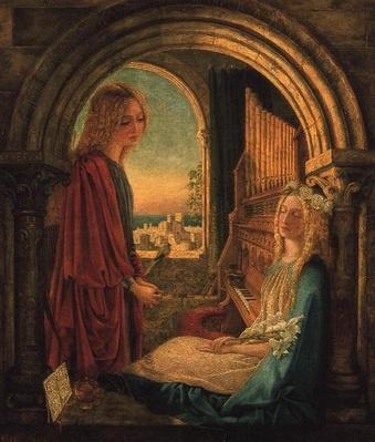 Annunciation, 1859