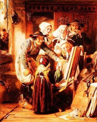 Art Critics in Brittany, 1860