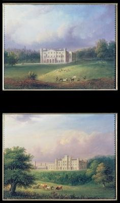 Two Views of Apley Priory
