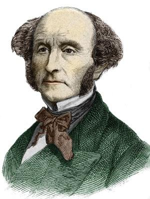 John Stuart Mill 1806-1873, British philosopher and economist | The Study of Economics