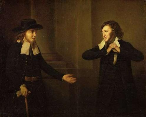 Shylock and Tubal from Act III, Scene ii of 'The Merchant of Venice' by William Shakespeare