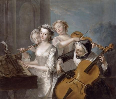 The Sense of Hearing, c.1744-7