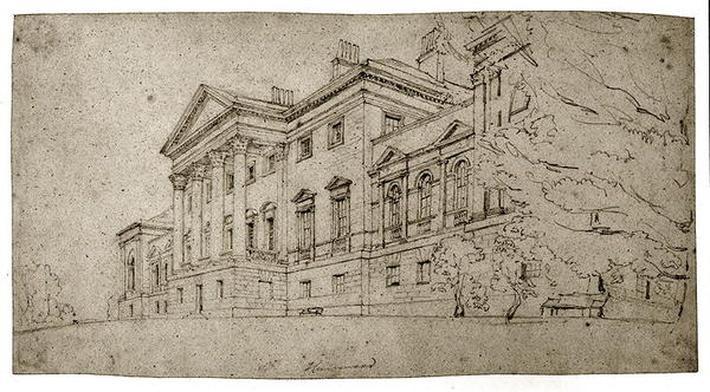 Harewood House, Yorkshire, c.1798