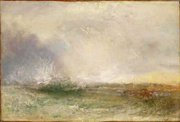 Stormy Sea Breaking on a Shore, 1840-5