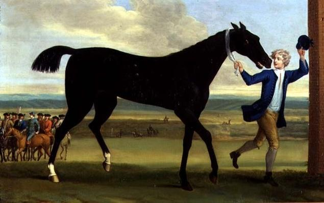 The Duke of Rutland's 'Bonny Black', c.1720