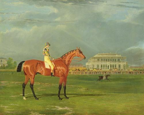 'Memnon' with William Scott Up, 1825