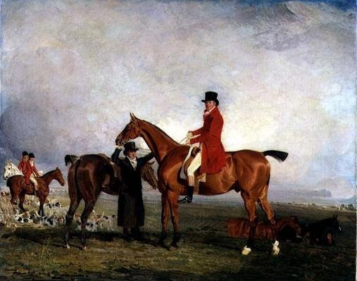 George, 5th Duke of Gordon on 'Tiny', 1806-7
