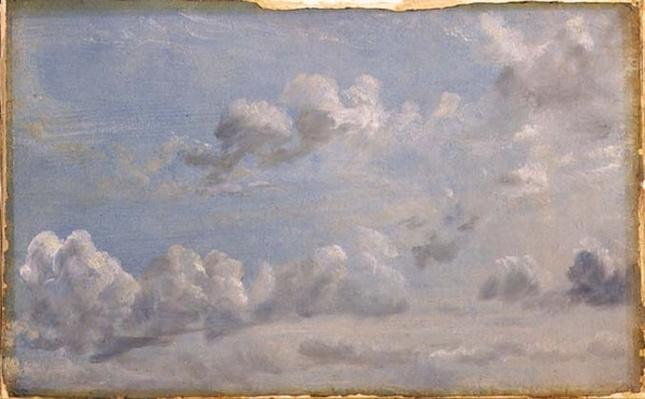 Study of Cumulus Clouds, 1822