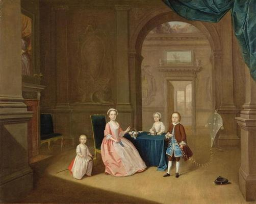 Portrait of a Group of Children, c.1743