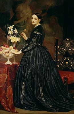 Mrs James Guthrie, c.1864-5