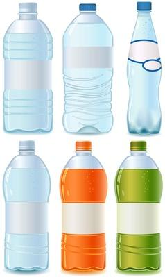 Plastic bottle set | Health and Nutrition