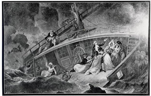 The Loss of the East Indiaman 'Halsewell', 6 January 1786