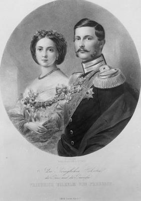 Wedding Portrait of Their Royal Highnesses Princess Victoria