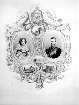 Souvenir of the Wedding of Victoria, the Princess Royal