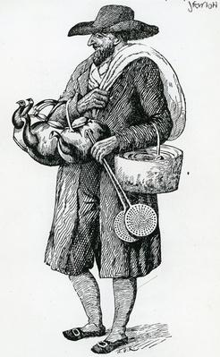 Jewish Hawker of Hamburg, Eighteenth Century