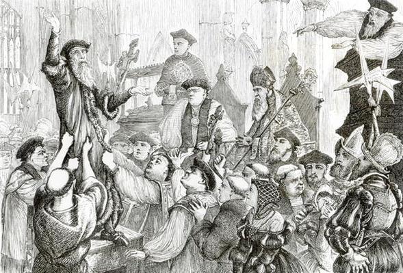 The Recantation of Archbishop Cranmer