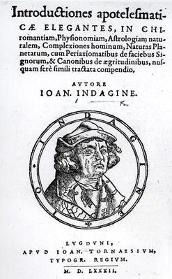 An Introduction to the Occult, by Johann Indagine, 1582