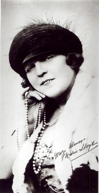 Signed photograph of Marie Lloyd
