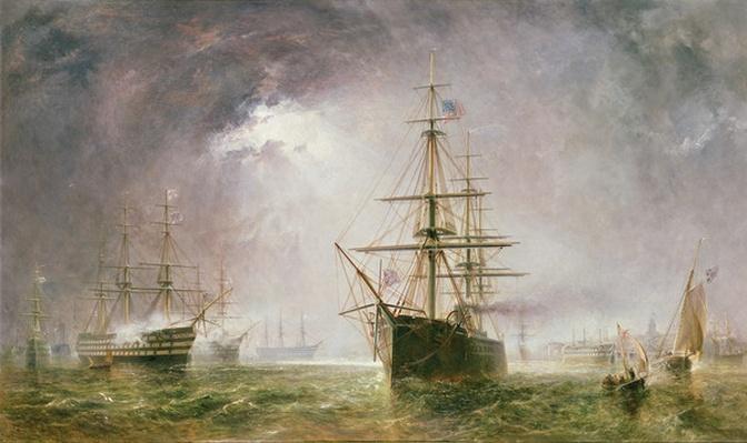 Half Mast High, 19th century