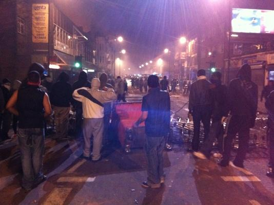 Protesters Riot In Tottenham | Civility & Brutality | The 20th Century Since 1945: Civil Rights & the New Millennium