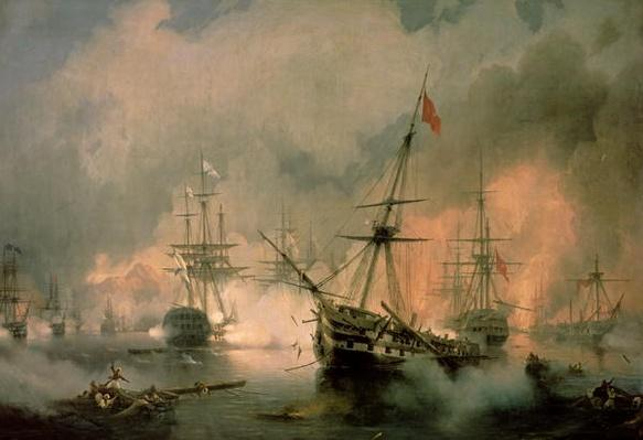 The Battle of Navarino, 20th October 1827, 1846