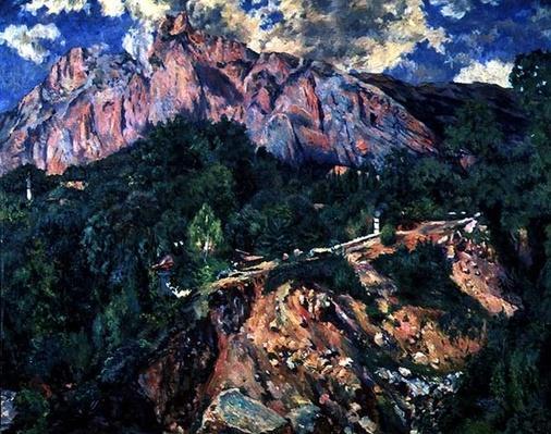 Mt. Ai-Petri, 1926