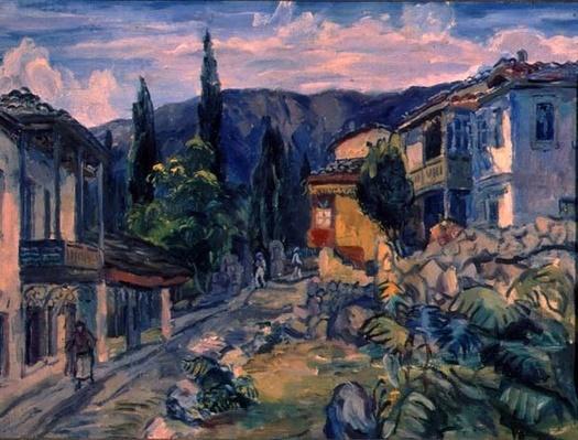 A Tatar Street in Yalta, 1932