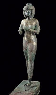 Statue of the Divine Adoratress Karomama, Third Intermediate Period