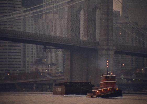 A Tugboat Goes Under the Bridge | Ken Burns: Brooklyn Bridge