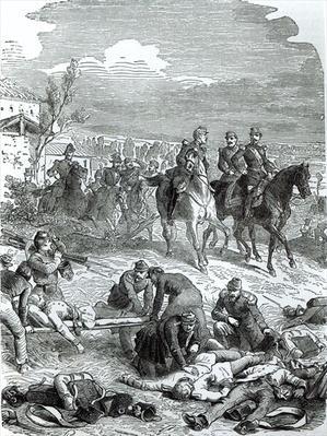 The Emperor Napoleon III on the Field of Battle at Solferino, 24th June 1859