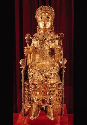 Reliquary statue of St. Foy, c.980