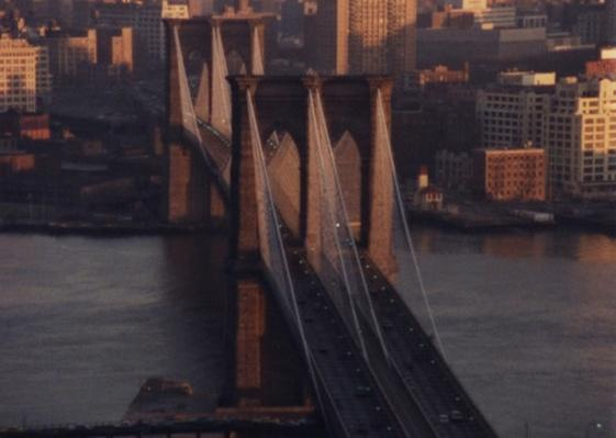 Aerial View of the Bridge | Ken Burns: Brooklyn Bridge