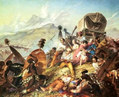 The Battle of Blauwkrantz, 1838
