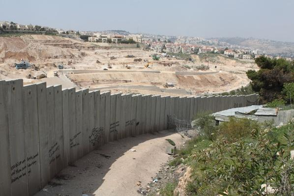 The separation wall or barrier (Palestine / Israel) | Palestine-Israel Conflict