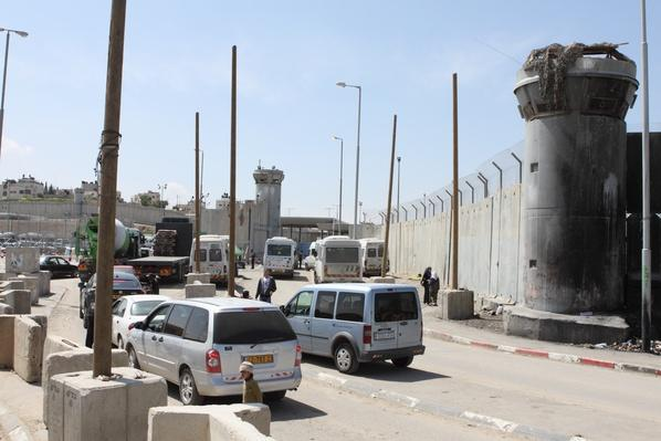 The Kalandia (or Qalandiya) checkpoint | Palestine-Israel Conflict